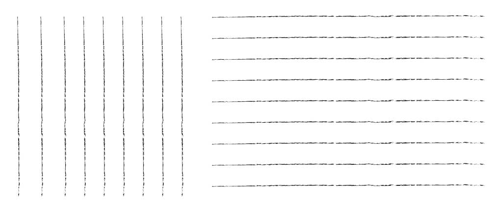 イラスト上達のための直線を描く練習で作った画像