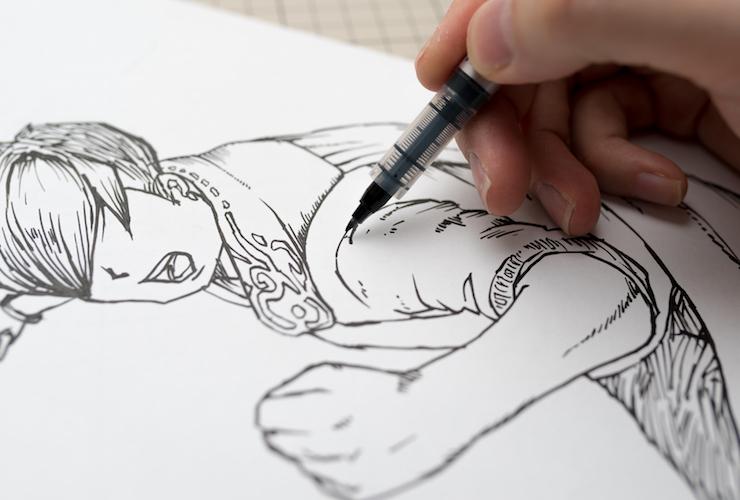 イラスト初心者がメキメキ上達する3つの練習方法