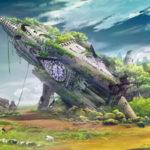 森の背景作画したイメージ