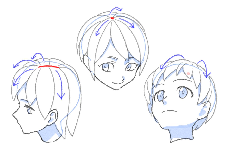 顔や体の基本的な描き方がしりたかった