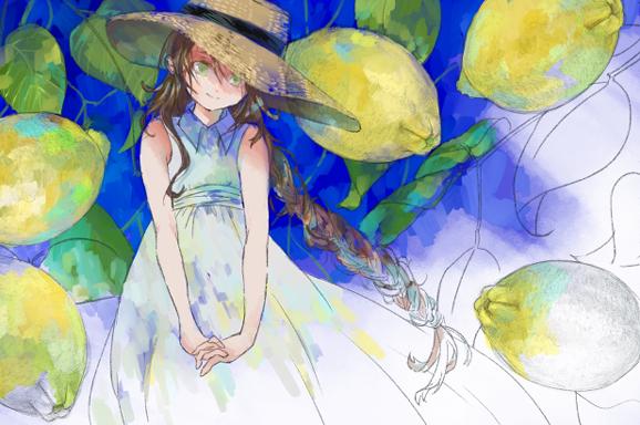 少女とレモン