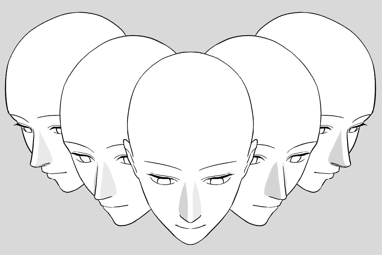 フカンの鼻の角度一覧