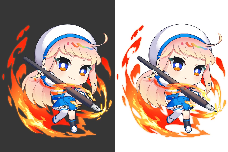 簡単でかっこいい炎エフェクトの描き方!合成モード活用で火の迫力UP