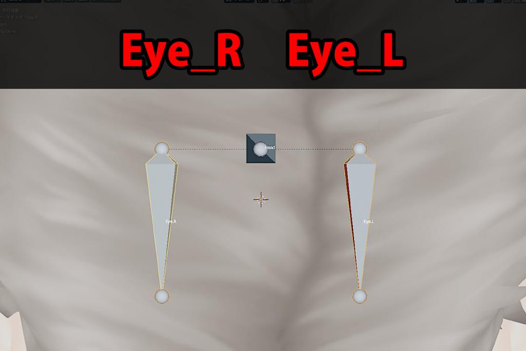名前をEye_RとEye_Lに変更
