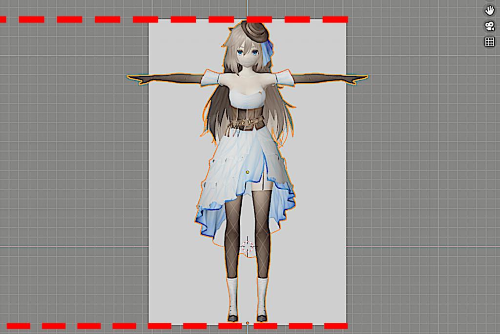 3Dモデルを平面に合わせる