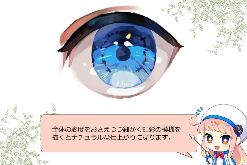 リアルな目の塗り方